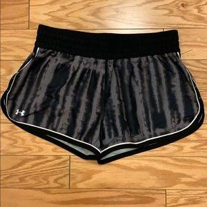 Under Armour Tye Dye Running Shorts